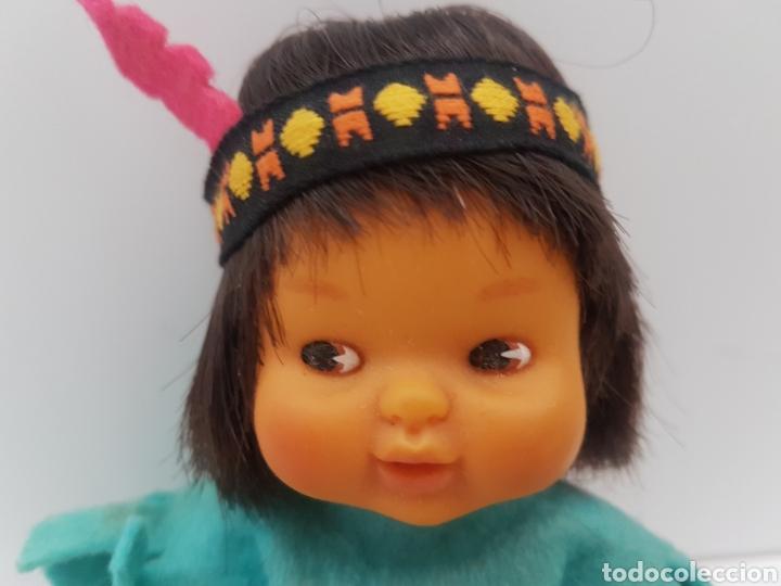 Muñecas Lesly y Barriguitas: Barriguitas indio + vestido indu. Famosa. Años 80 - Foto 7 - 196140641