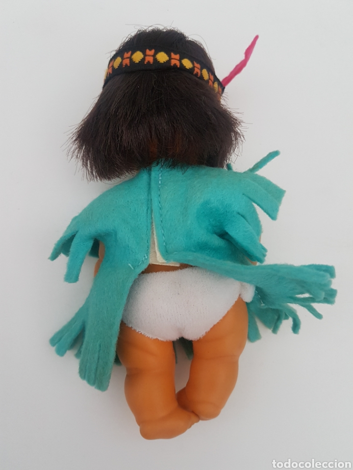 Muñecas Lesly y Barriguitas: Barriguitas indio + vestido indu. Famosa. Años 80 - Foto 11 - 196140641