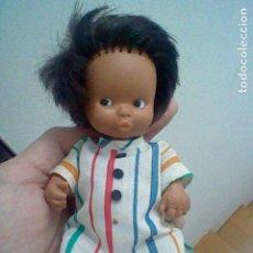 Muñecas Lesly y Barriguitas: BARRIGUITAS MORO MORITO NUCA FAMOSA MADE SPAIN SIMILAR . Lote 197937348