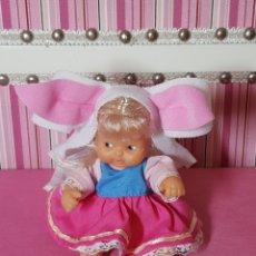 Muñecas Lesly y Barriguitas: BARRIGUITAS PIE DE ASNO SERIE CUENTOS. Lote 198355823