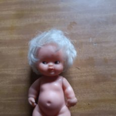 Muñecas Lesly y Barriguitas: BARRIGUITAS PELO BLANCO Y PEQUITAS. Lote 198822290