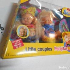 Muñecas Lesly y Barriguitas: LOTE DE PAREJA DE BARRIGUITAS EN SU CAJA NUEVO SIN USAR. Lote 198956943