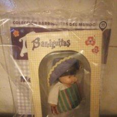 Muñecas Lesly y Barriguitas: BARRIGUITAS DEL MUNDO MEXICANO Nº 11 ,2019 PLANETA DE AGOSTINI,EN CAJA CON FASCICULO,SIN ESTRENAR. Lote 199248690
