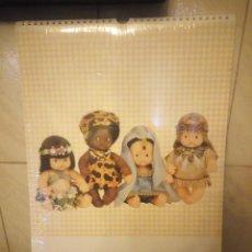 Muñecas Lesly y Barriguitas: CALENDARIO BARRIGUITAS DEL MUNDO,PLANETA DE AGOSTINI 2019. Lote 199250448