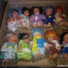 Muñecas Lesly y Barriguitas: BARRIGUITAS FAMOSA AÑOS 90 PAISES DEL MUNDO A 8 EUROS UNIDAD. Lote 181614648