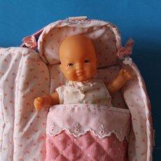 Muñecas Lesly y Barriguitas: BARRIGUITAS RETOÑO + BOLSO PASEO - FAMOSA - BLANDITO. Lote 200306148