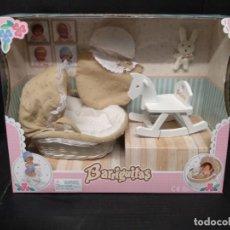 Muñecas Lesly y Barriguitas: BARRIGUITAS ACCESORIOS DE MADERA BALANCÍN Y. Lote 200799537