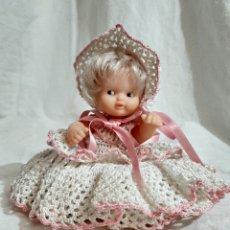 Muñecas Lesly y Barriguitas: MUÑECA BARRIGUITA CON SU VESTIDO DE FAMOSA SOLO FAMOSA 97. Lote 203798936