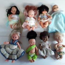 Muñecas Lesly y Barriguitas: LOTE DE 8 MUÑECAS BARRIGUITAS. Lote 204076715