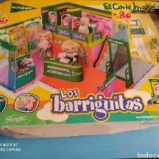 Muñecas Lesly y Barriguitas: LOS BARRIGUITAS, CENTRO COMERCIAL, EL CORTÉ INGLÉS, INCOMPLETO. Lote 205057305