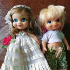Muñecas Lesly y Barriguitas: BARRIGUITAS NEW NOVIA Y BARRIGUITAS NEW NIÑA. Lote 206265531