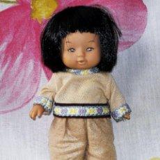 Muñecas Lesly y Barriguitas: MUÑECO SIMILAR A BARRIGUITAS INDIO. Lote 206502005