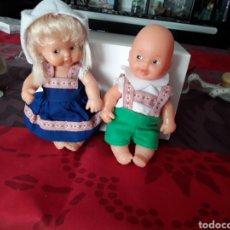 Muñecas Lesly y Barriguitas: PAREJA DE BARRIGUITA DE FAMOSA. Lote 206552683