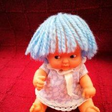 Muñecas Lesly y Barriguitas: BARRIGUITA DE PELO DE LANA AZUL /MUŇECA FAMOSA /. Lote 207036212