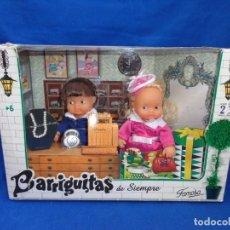Muñecas Lesly y Barriguitas: BARRIGUITAS DE SIEMPRE EN SU CAJA A ESTRENAR VER FOTOS! SM. Lote 207215285