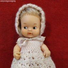 Muñecas Lesly y Barriguitas: BARRIGUITA DE FAMOSA CON VESTIDO DE GANCHILLO. Lote 207229843