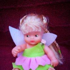Muñecas Lesly y Barriguitas: BARRIGUITA CON ALITAS DE MARIPOSA MUÑECA DE FAMOSA. Lote 207342880