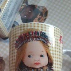 Muñecas Lesly y Barriguitas: TAZA DE MUÑECA BARRIGUITAS DE COLECCIÓN. Lote 207403431