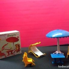 Muñecas Lesly y Barriguitas: JUEGO DE PLAYA BARRIGUITAS. Lote 207474963