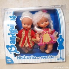 Muñecas Lesly y Barriguitas: BARRIGUITAS HISTORIA DEL VESTIDO SIGLO XVIII EN CAJA. Lote 209799610