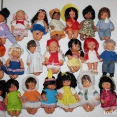 Muñecas Lesly y Barriguitas: LOTE DE 21 BARRIGUITAS DE FAMOSA. Lote 210090698