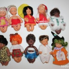 Muñecas Lesly y Barriguitas: LOTE DE 10 BARRIGUITAS DE FAMOSA. Lote 210094301