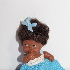 Muñecas Lesly y Barriguitas: BARRIGUITAS NEGRO DE FAMOSA - AÑOS 80. Lote 210264665