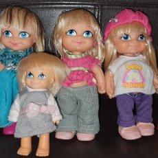 Muñecas Lesly y Barriguitas: LOTE SEIS BARRIGUITAS. Lote 210539392