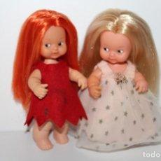Muñecas Lesly y Barriguitas: 2 BARRIGUITAS DE FAMOSA - BRUJITA Y HADA - AÑOS 80. Lote 210545156