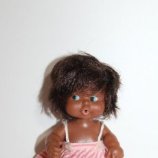 Muñecas Lesly y Barriguitas: BARRIGUITAS NEGRO DE FAMOSA - AÑOS 80. Lote 210636214