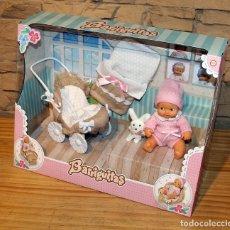 Bonecas Lesly e Barriguitas: BARRIGUITAS DE SIEMPRE FAMOSA - CARRITO CON BEBE - NUEVO - NO SE ADMITEN OFERTAS PARA ESTE ARTÍCULO. Lote 210656894
