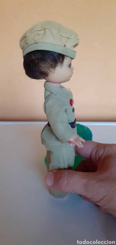 Muñecas Lesly y Barriguitas: PEQUEÑO MUÑECO MILITAR - Foto 5 - 210694736