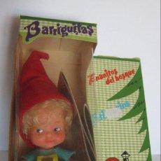 Bonecas Lesly e Barriguitas: BARRIGUITAS ENANITOS DEL BOSQUE, EN CAJA. CC. Lote 210718377