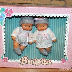 Bonecas Lesly e Barriguitas: BARRIGUITAS DE SIEMPRE - GEMELOS + CARRITO CON BEBE - RESERVADO A MARISA GARCIA CADIZ. Lote 210723402