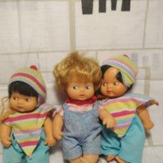Muñecas Lesly y Barriguitas: TRÍO DE BARRIGUITAS. Lote 211671003