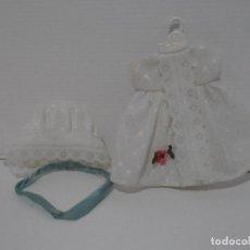 Muñecas Lesly y Barriguitas: VESTIDO Y GORRO BARRIGUITAS, FAMOSA ORIGINAL AÑOS 80. Lote 212010372
