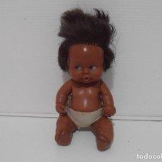 Muñecas Lesly y Barriguitas: MUÑECA BARRIGUITAS, NEGRITA, FAMOSA ORIGINAL AÑOS 80. Lote 212011302