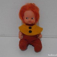 Muñecas Lesly y Barriguitas: MUÑECA BARRIGUITAS, ENANITO DEL BOSQUE BOTONES, FAMOSA ORIGINAL AÑOS 80. Lote 212012242