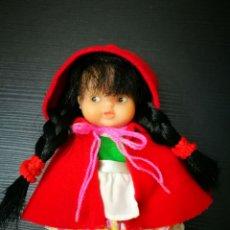 Muñecas Lesly y Barriguitas: BARRIGUITA CAPERUCITA ROJA ANTIGUA MUÑECA DE FAMOSA. Lote 212905241