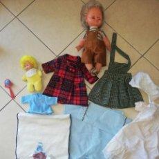 Muñecas Lesly y Barriguitas: LOTE VESTIDOS Y COMPLEMENTOS MARCA B.B Y MUÑECA FARITA. Lote 214634620