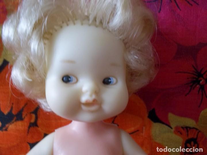 Muñecas Lesly y Barriguitas: BARRIGUITAS ANTIGUA CON AGUJERO EN LA CABEZA-97 FAMOSA-AÑOS 70 - Foto 5 - 217129432