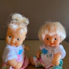 Muñecas Lesly y Barriguitas: PAREJA DE BARRIGUITAS ESCOLARES. Lote 218281690