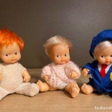 Muñecas Lesly y Barriguitas: 3 BARRIGUITAS. Lote 218328616