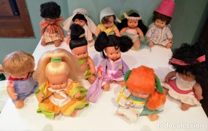 Muñecas Lesly y Barriguitas: Barriguitas países del mundo - Foto 2 - 218683972