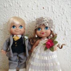 Muñecas Lesly y Barriguitas: PAREJA BARRIGUITAS NOVIOS SIN USAR. Lote 218988626