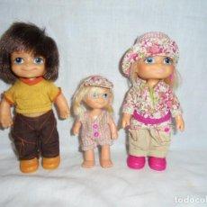 Muñecas Lesly y Barriguitas: FAMILIA DE BARRIGUITAS MODERNA. Lote 219555132