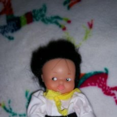 Muñecas Lesly y Barriguitas: PRECIOSA BARRIGUITAS ARGENTINA CON TRAJE ORIGINAL. Lote 220061738