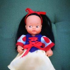 Muñecas Lesly y Barriguitas: BARRIGUITA DE CUENTO BLANCANIEVES, MUÑECA DE FAMOSA. Lote 220190403