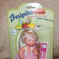 Muñecas Lesly y Barriguitas: BARRIGUITAS BESITOS FRESA,BLISTER,A ESTRENAR. Lote 220612467