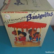 Muñecas Lesly y Barriguitas: CAJA VACIA - TIO VIO MUSICAL DE BARRIGUITAS - VER FOTOS DETALLES. Lote 220950600